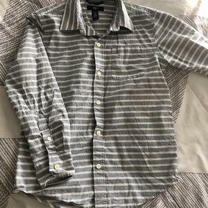 Gap kids Boys Dress Shirt Long sleeve Size M